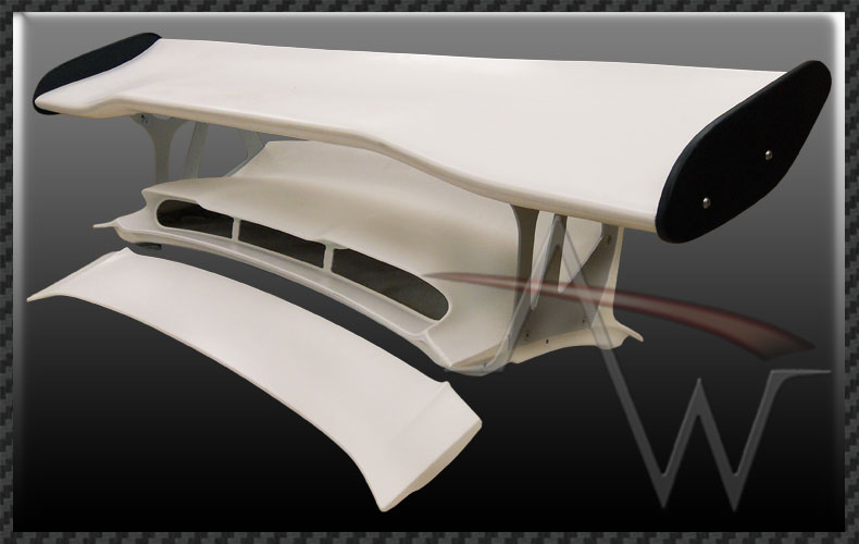 Porsche 997 MK2 GT3RS RS Style Rear Wing & Bootlid | eBay